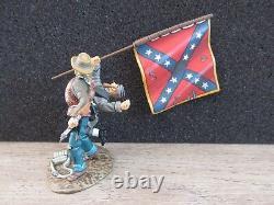 Boite Frontline Figures American CIVIL War 1st Texas Regiment Flag A. C. C. 1