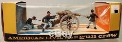 Britain 4465 Swoppet U. S. Civil War Union 12 Pound Cannon with Gun Crew MOB 1960