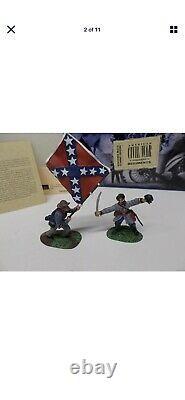 Britain American Civil War Regiments Confederate Command 57th Virginia Figures
