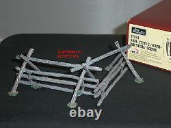 Britains 17574 American CIVIL War Rail Fence Bush Tactical Toy Soldier Diorama