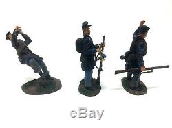 Britains 17664 Civil War Valley Campaign Union Infantry Musician/Wounded Set 3pc