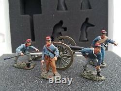 Britains 17669 ACW American Civil War Confederate Artillery Set 1 Parrot Gun Set