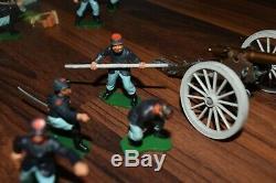 Britains 1960`s Swoppet American CIVIL War Union Field Gun & Crew Job Lot