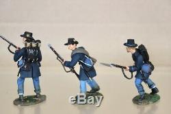 Britains 31001 American CIVIL War Union Infantry Iron Brigade Firing Line Set 1