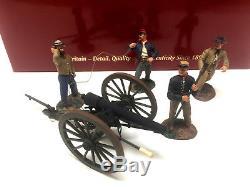 Britains 31098 American Civil War Confereate Artillery Set #3 Fire MINT