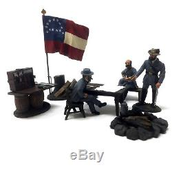 Britains 31207 Civil War DECISIVE DAY Confederate Generals Lee, Ewell & Early