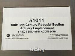 Britains 51011 American Civil War Tactical Scenes Redoubt Artillery Emplacement
