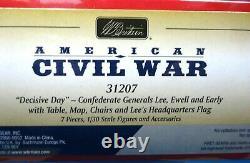 Britains 54mm American civil war Confederate Generals 7 pcs #31207 2013 MIB oop