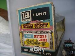 Britains 7464 Union American Civil War Gun Team & Limber Deetail Version Boxed