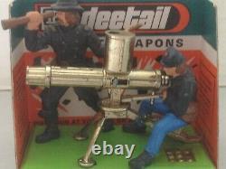 Britains 7470 Federal Union Gatling Gun, Carded with ammunition A. C. W Civil War