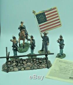 Britains American CIVIL War 17577 The Bucktails 6 Piece Set