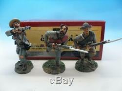 Britains American CIVIL War 5th Virginia Infantry Charging Set 17803 54mm