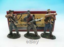 Britains American CIVIL War 5th Virginia Infantry Firing Set 17804 54mm