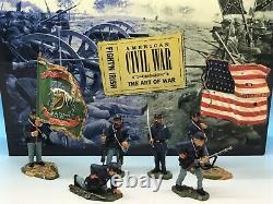 Britains American CIVIL War Fightn Irish 17426 54mm