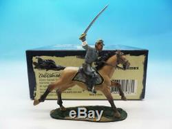 Britains American CIVIL War George E Pickett On Horseback 17287 54mm