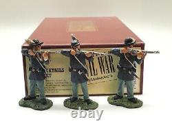 Britains American CIVIL War The Bucktails Set 17578 54mm