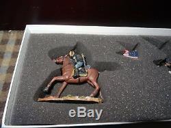Britains-American Civil War Series-17371 Union Captain and Guidon Bearer