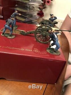 Britains American Civil War Union Artillery Set No. 1 5 Piece Set 17779