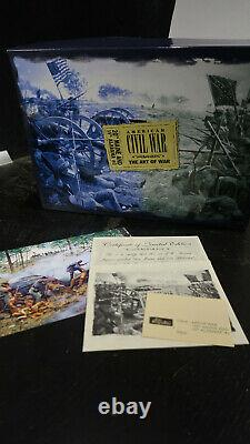 Britains BOXED US CIVIL WAR No 17436 20th Maine 15th Alabama #2
