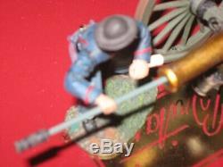 Britains CIVIL War 31097 Union Artillery Set #3 Make Ready 5 Pieces
