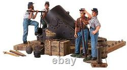 Britains CIVIL War Union 31134 13 Inch Mortar With Crew Mib