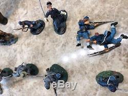 Britains Civil War Toy Soldiers, Various soldiers with Horses and Cart (#A2)
