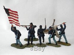 Britains- Clubs Are Trumps 19 Massachusetts 17302 American CIVIL War Box Set