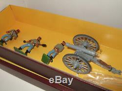 Britains Collector Set 8876 American Civil War Confederate Gun& 5 Man Crew, 54mm