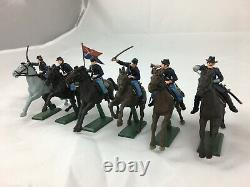 Britains DEETAIL #17827 American Civil War Mounted U. S. ACW Cavalry Union