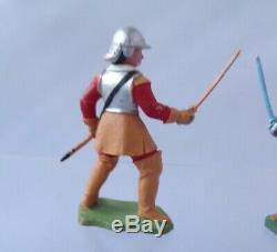 Britains Herald ECW English Civil War Roundhead And Cavalier Sword Fighting 1.32