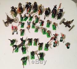 Britains Ltd 1971 deetail American Civil War toy soldiers Lot of 40