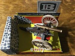 Britains Ltd American Civil War Field Piece Rare Vintage New In Box
