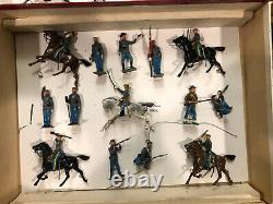 Britains Rare Boxed Set 2070 Civil War Display. Post war c1950s