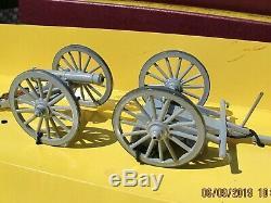 Britains Set 8874 US Confederate Army Gun Limber and Crew US Civil War VGC