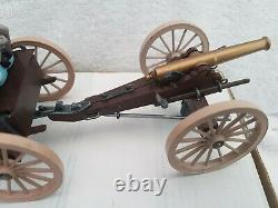 Britains Swoppet ACW American Civil War Confederate Gun Limber Canon With Shells