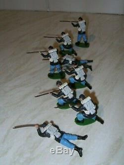 Britains Swoppet ACW American Civil War Federal Infantry. Near Mint. 8 ONLY