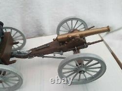 Britains Swoppet ACW American Civil War Union Gun Limber Canon With Shells
