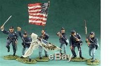 Britains William Britain American Civil War Dale Gallon 17302 Clubs Are Trumps
