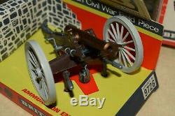 Britains swoppet deetail american civil war cannon gun 9726 mint ex shop stock