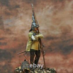 British Sergeant Royalist in English Civil War Painted Miniature Pre-Sale Art