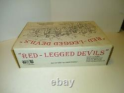 Butternut & Blue, Red-legged Devil 1/32, Civil War playset with box Very Rare