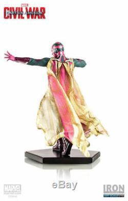 Captain America Civil War Statue 1/10 Vision figure rare winter soldier