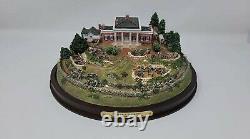 Civil War Diorama Marye's Heights Battle of Fredericksburg Danbury Mint 251-001