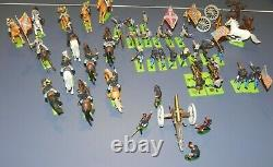 Civil War Enactment toy soldiers Made in England Deetail 1971 Cannon/Gatling