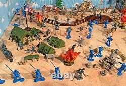 Civil War Playset #3 Marx Replica 1960s Civil War Playset 54mm toy soldiers