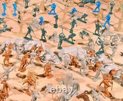 Civil War Playset Marx Recast Antietam 54mm Plastic Toy Soldiers