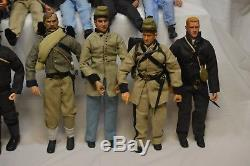 Civil War Soldier Figure Lot Elite Brigade Soldiers Of The World Brotherhood Arm