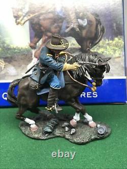 Collectors Showcase American CIVIL War Soldier Major Royal Mounted Boxed Cs00329