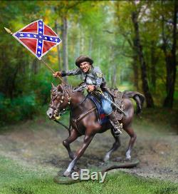 Collectors Showcase CIVIL War Confederate Cs01012c Mosby's Rangers Standard Mib