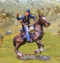 Collectors Showcase Civil War Union Cavalry Slashing CS00626 7th Michigan OOP